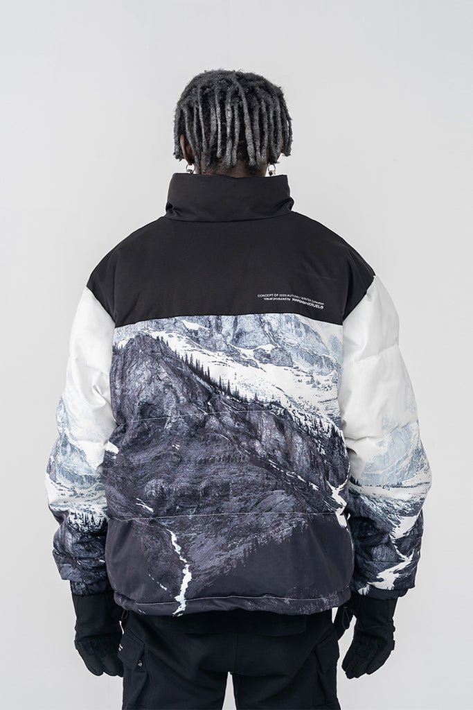 Mountains Down Jacket - INTL Collective