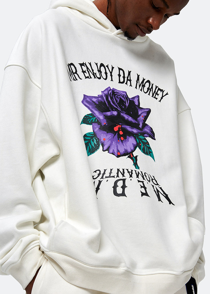 Purple Roses Hoodie - INTL Collective