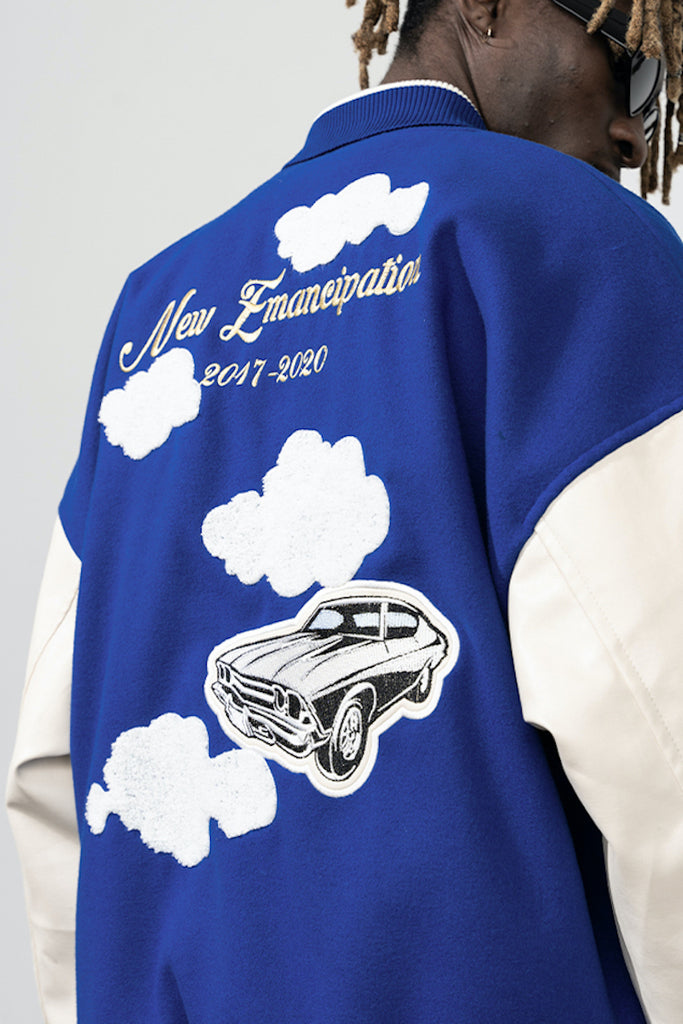 New Emancipation Varsity Jacket - INTL Collective