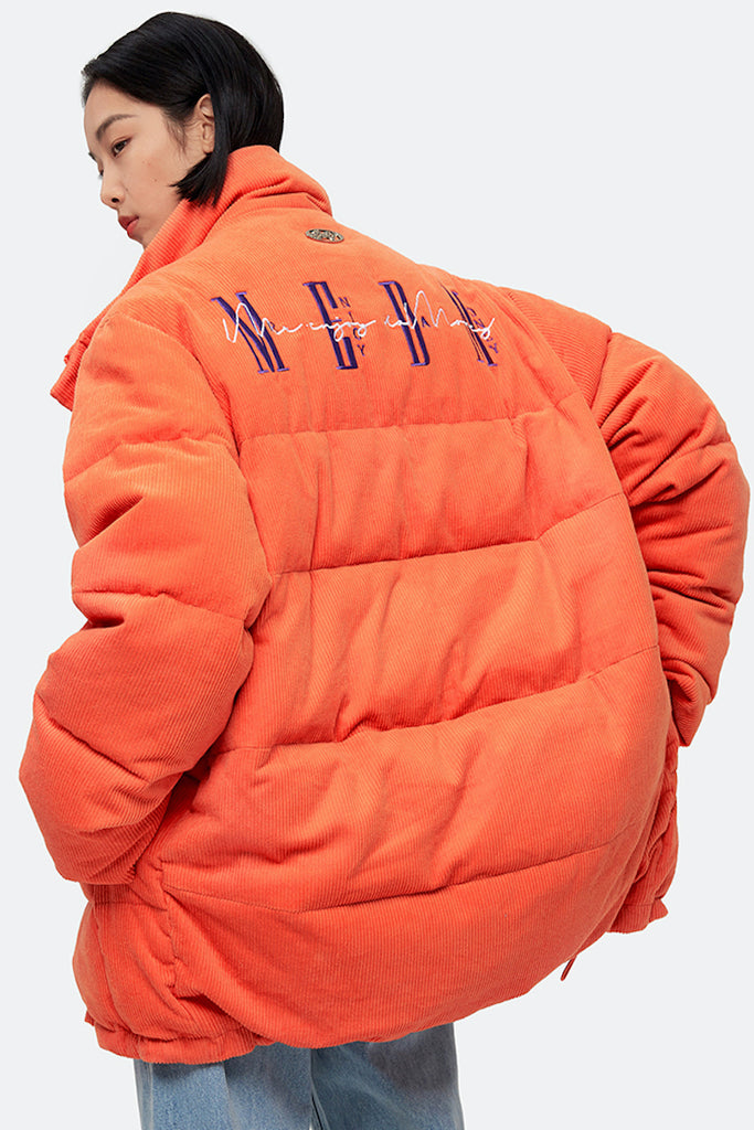 MEDM Corduroy Down Jacket - INTL Collective