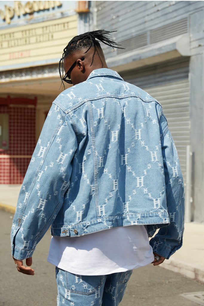 113H Denim Jacket - INTL Collective