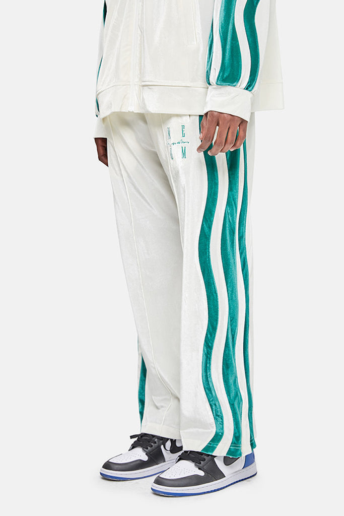 Big Roller Velvet Trackpants - INTL Collective