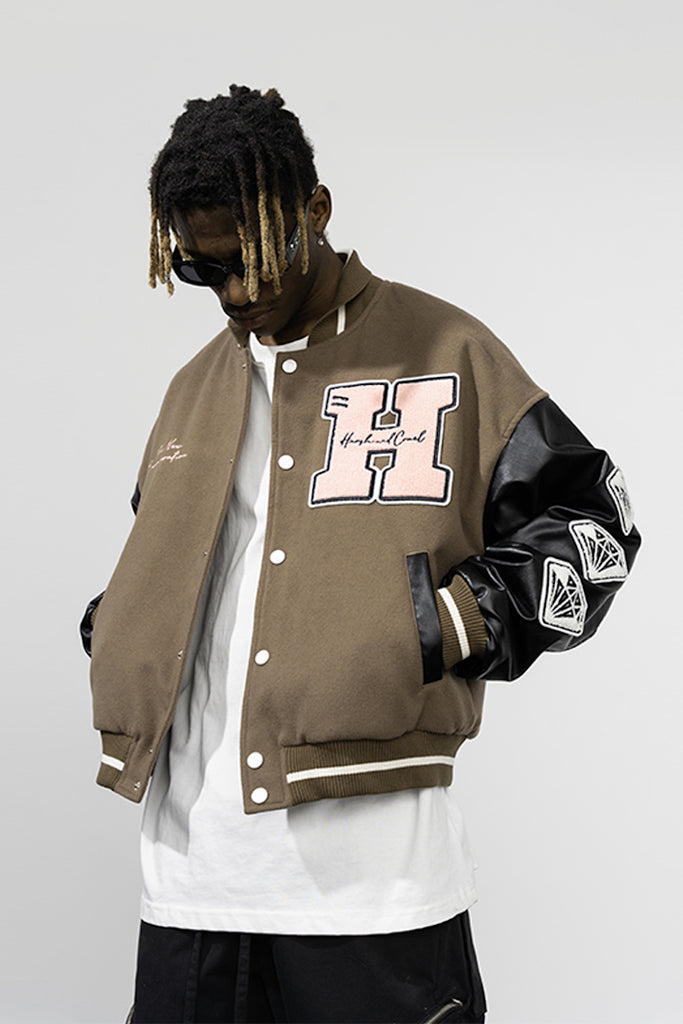 New Century Varsity Jacket - INTL Collective