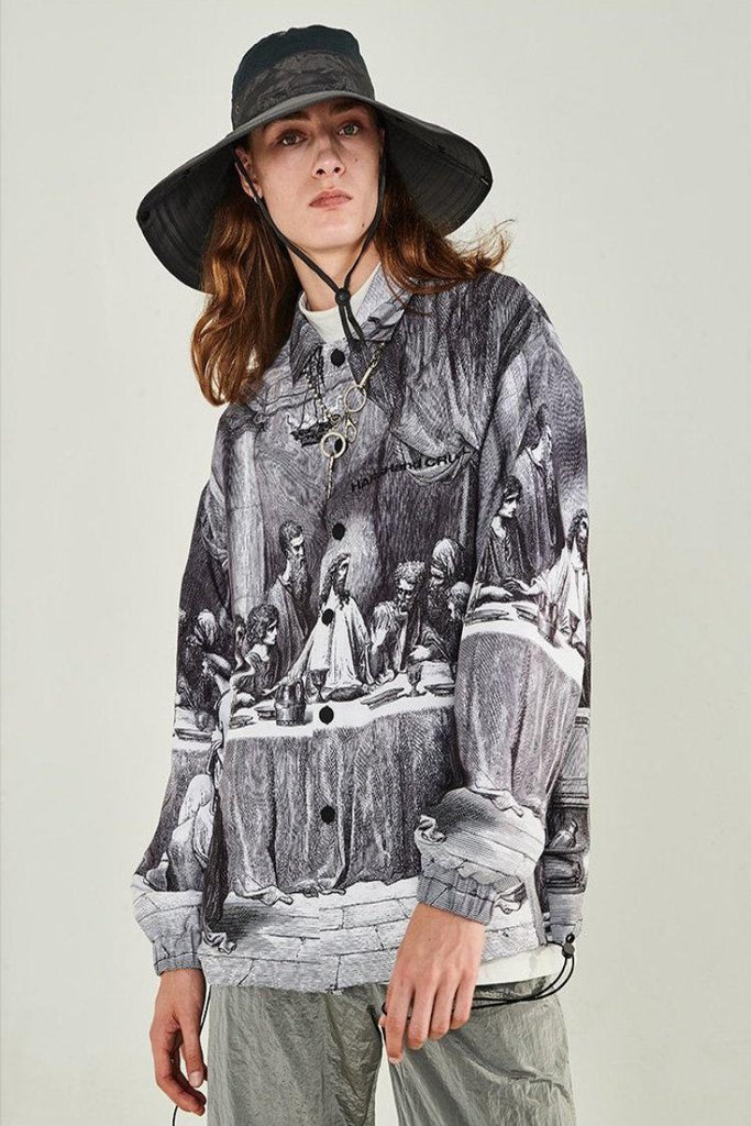 Last Supper Coach Jacket - INTL Collective