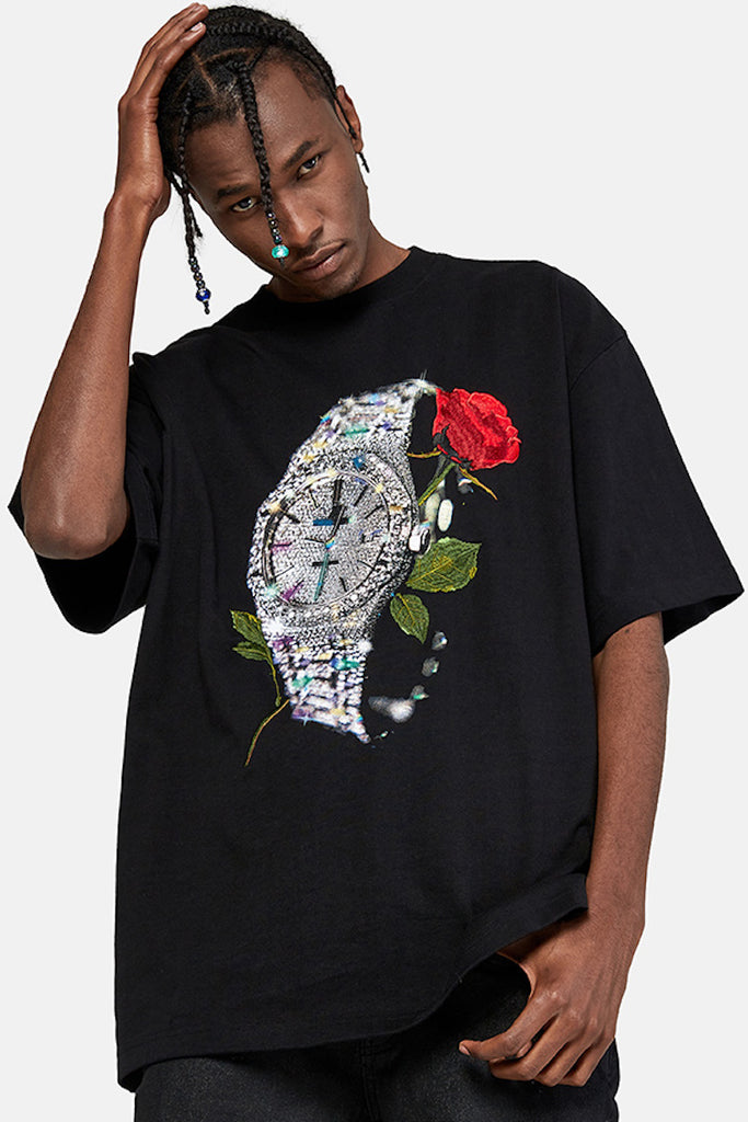 Iced Rose T-Shirt - INTL Collective