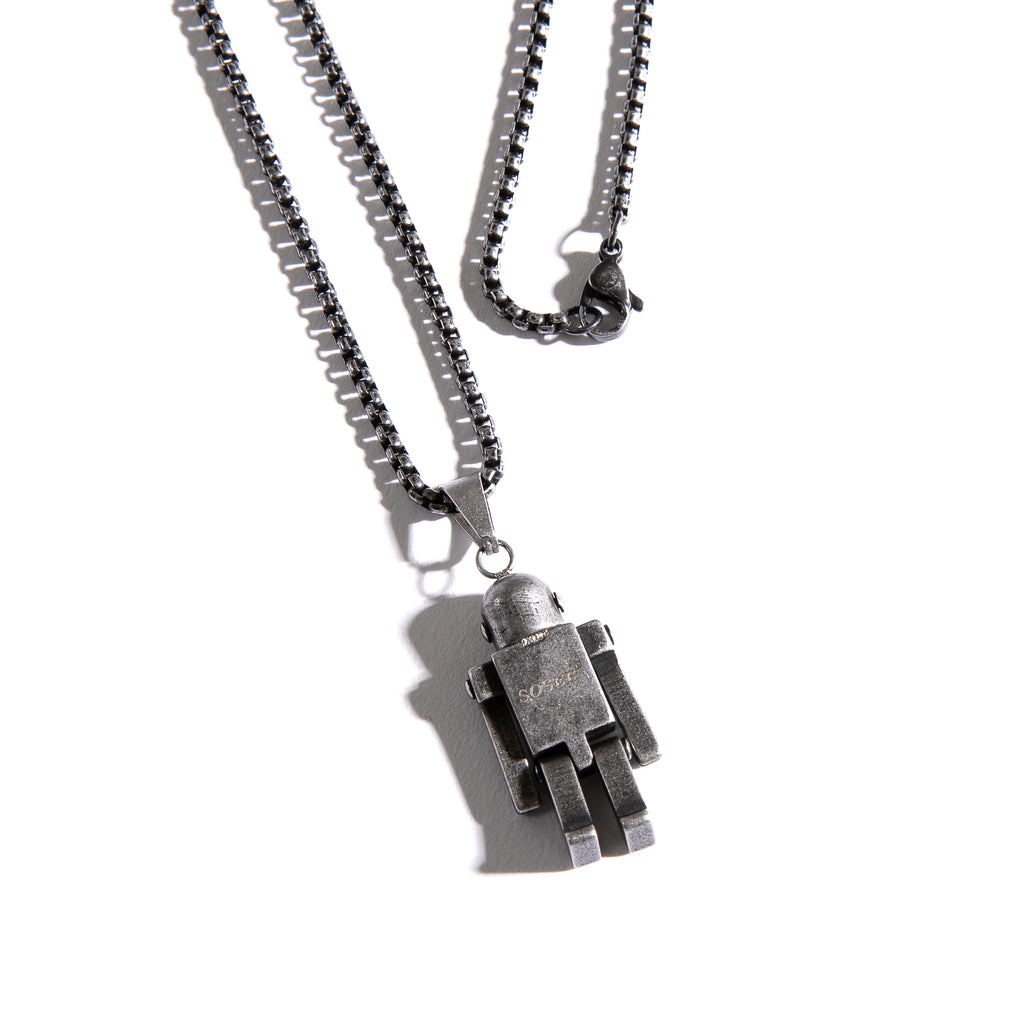 Robot Necklace - INTL Collective