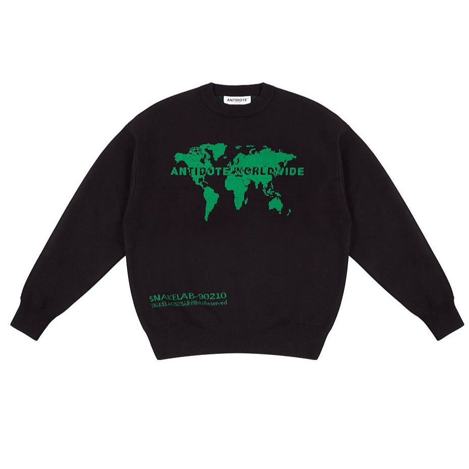 Mapped Out Sweater - INTL Collective
