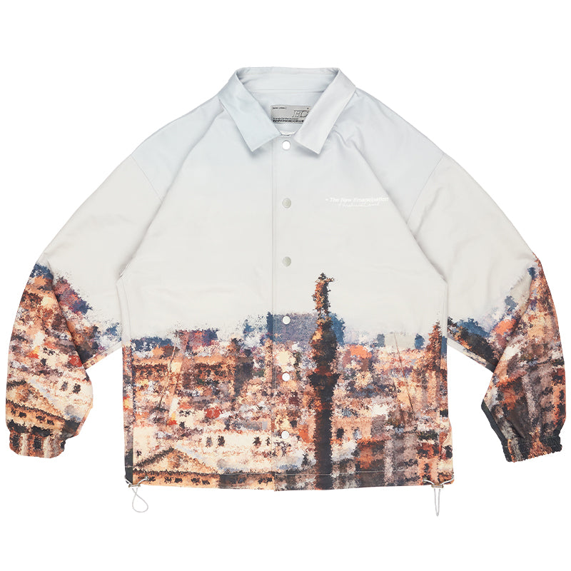 Cityscape Coach Jacket - INTL Collective
