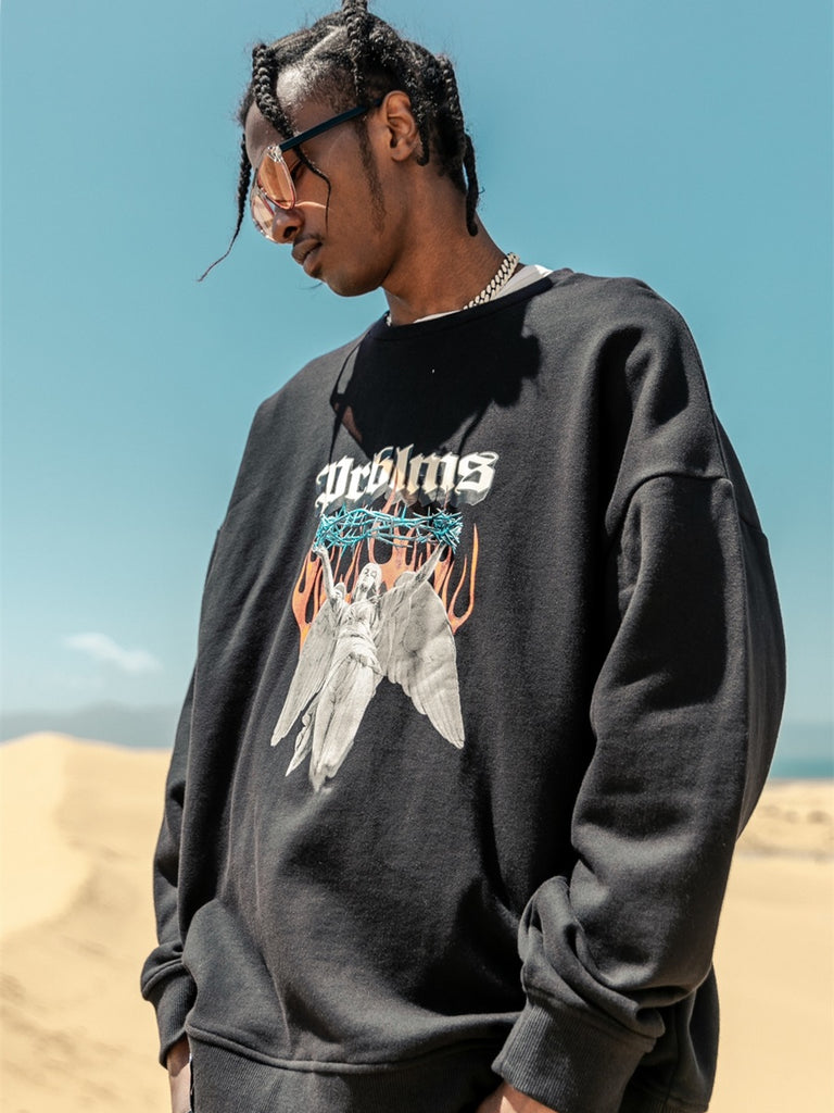 Guardian Angel Crewneck - INTL Collective
