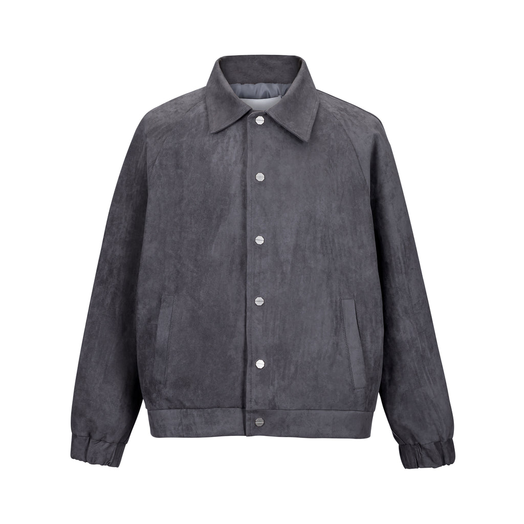 Chamois Suede Jacket - INTL Collective