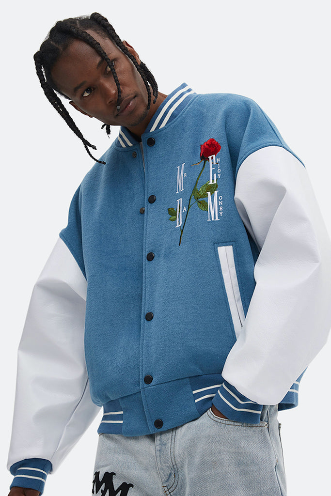 Final Rose Baseball Jacket - INTL Collective