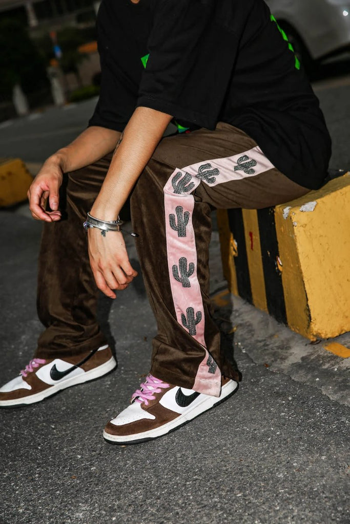 Velvet Cactus Trackpants - INTL Collective