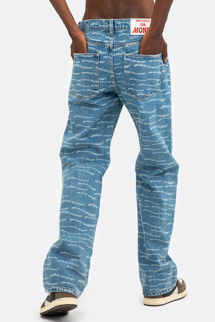 MEDM Wavy Jeans - INTL Collective