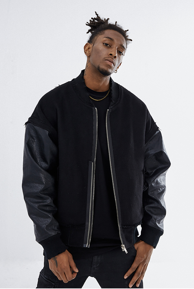 BODMON Baseball Jacket - INTL Collective