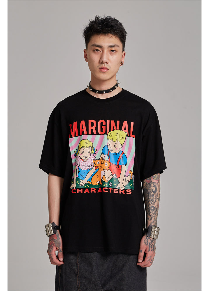 Marginal Characters T-Shirt - INTL Collective