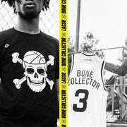"Bone Collector ""Logo"" Tee - Black - Lasso® Compression Socks"