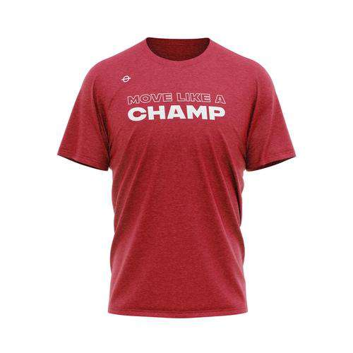 Move Like A Champ Tee - Bulldog Red - Lasso®