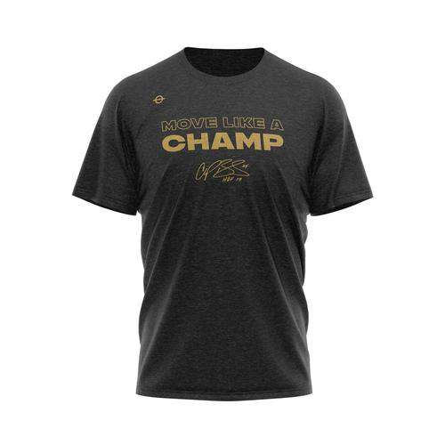 Move Like A Champ – Hall of Fame Edition Tee - Lasso® Compression Socks