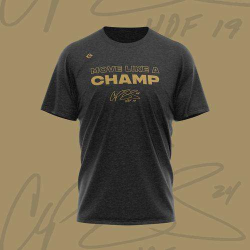 Move Like A Champ – Hall of Fame Edition Tee - Lasso Gear