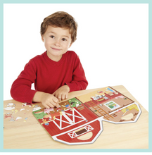 Puffy Sticker Play Set - On the Farm