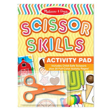 Scissors Skills Activity Pad