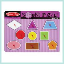 Shapes Sound Puzzle - 9 Pieces
