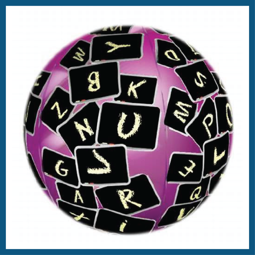 Toss-N-Talk Noun, Verb & Adjective Educational 24″ Inflatable Ball