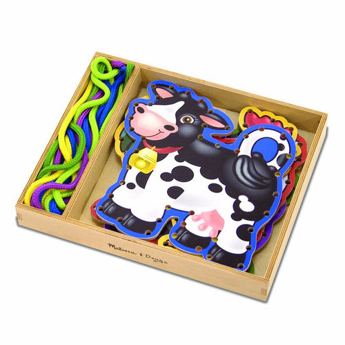 Farm Animals Lace & Trace Panel