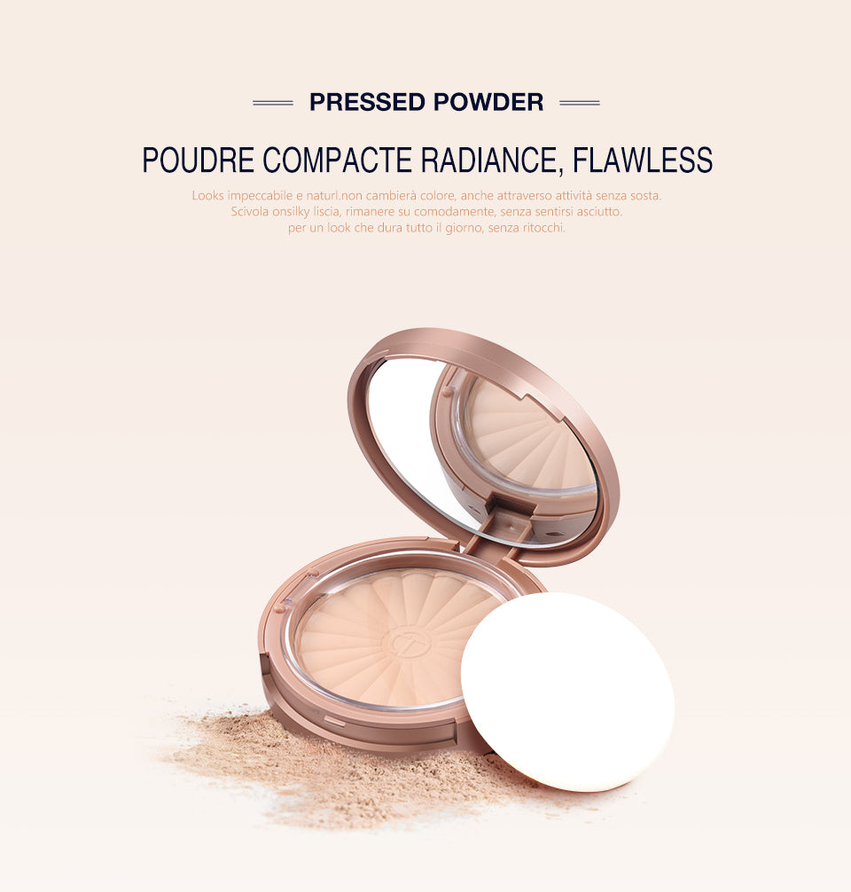 Pressed Powder Pores Cover Hide Blemish Oil-control
