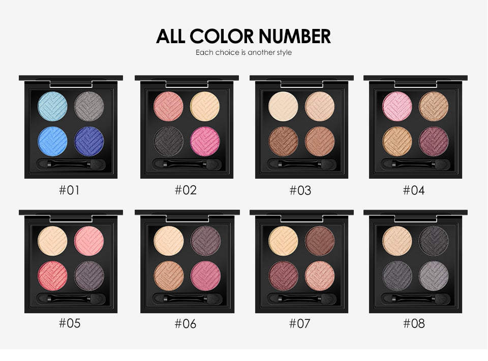 EYESHADOW-4 colors Palette