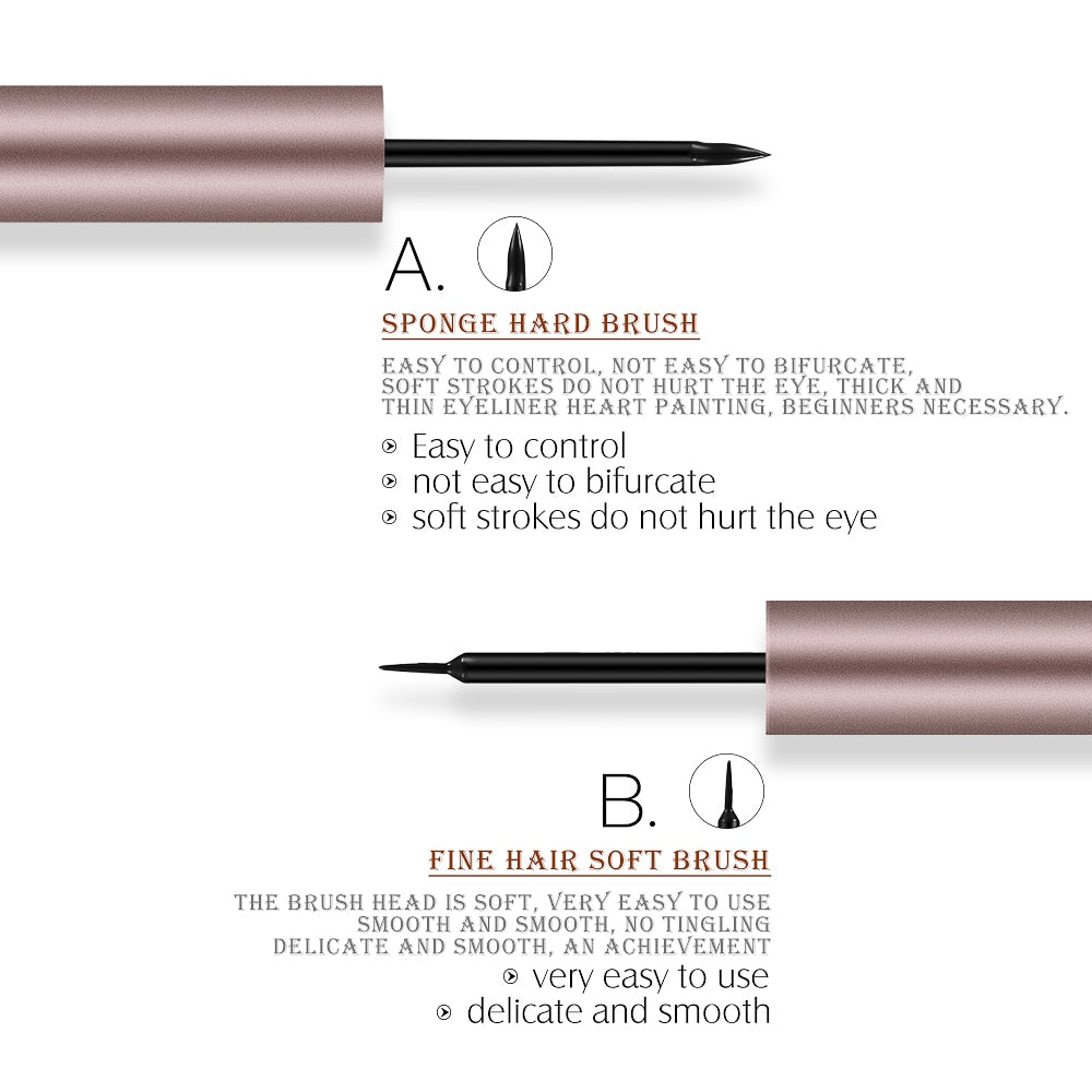 Liquid Eyeliner Pen Black 24 Hours