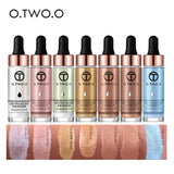 O.TWO.O Liquid Highlighter Contouring Make Up Natural Glow Enhancer Highlighting Lotion Brighten Shimmer 3D Highlighters 15ml