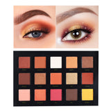 BEAUTY GLAZED 15 Color Eyeshadow Palette