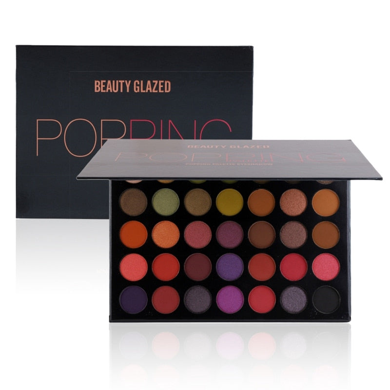 Beauty Glazed Makeup 35 Colors Eyeshadow Palette