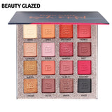 BEAUTY GLAZED 16 Colors Eyeshadow Palette