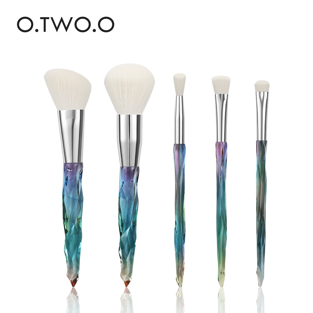 5pcs Diamond Makeup Brushes Maquiagem Set