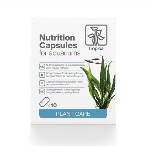 Tropica Nutrition Capsules | Aquarium Plant Root Tab Fertilizer - H2O Plants