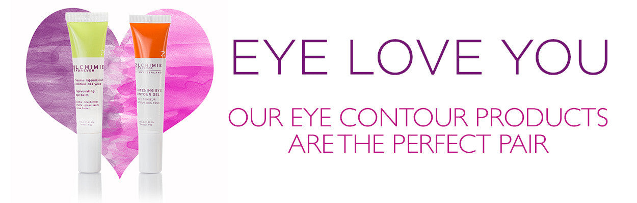 Our eye contour products are the perfect pair