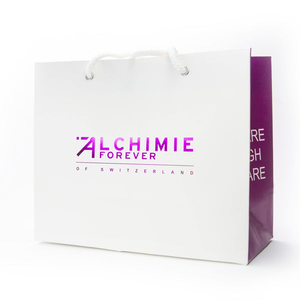 Alchimie Forever branded shopping bag