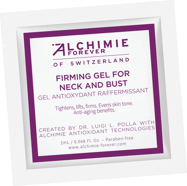 Firming gel for neck and bust sample