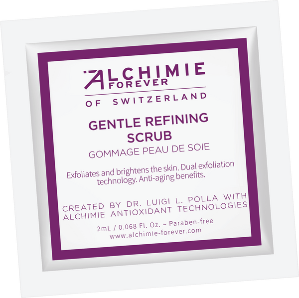 Gentle Refining Scrub sample packet