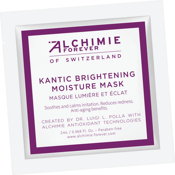 Kantic Brightening moisture mask sample
