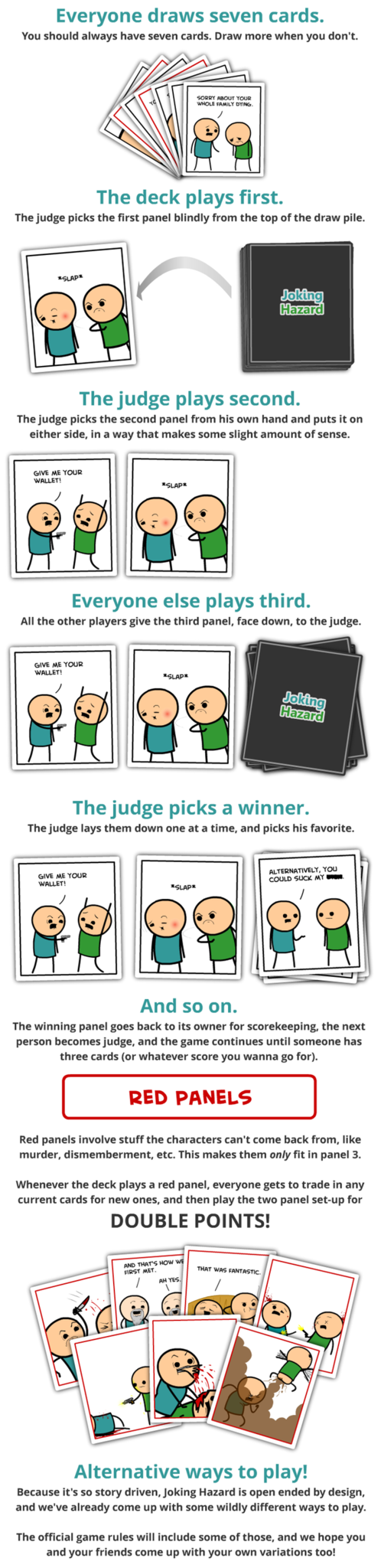 Joking Hazard regler