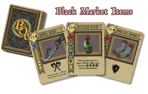 bargain quest black market items