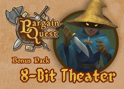 bargain quest 8-bit theater