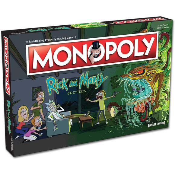 Rick and Morty Monopoly