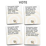 These cards will get you drunk too vote