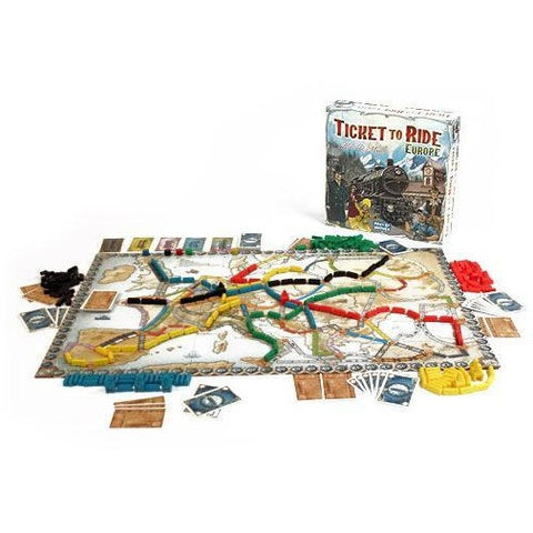 Ticket to Ride Europe køb