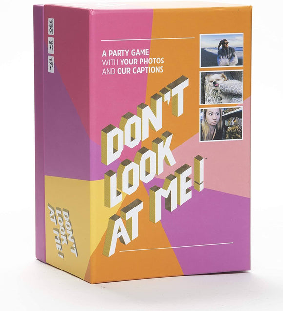 don't look at me game