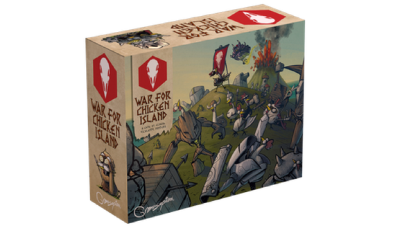 War For Chicken Island - Inkl. Kickstarter Mecha Chicken Dragon